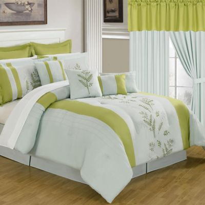 Lavish Home 24-Piece Maria Queen Bedroom Set