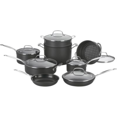 Cuisinart Chef's Classic™ Non-Stick Hard Anodized 14-Piece Cookware Set
