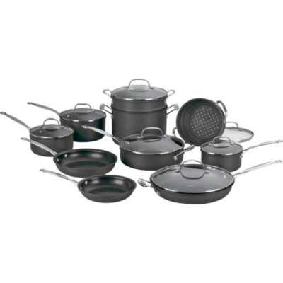 Cuisinart Chef's Classic™ Non-Stick Hard Anodized 17-Piece Cookware Set