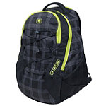 Ogio Black Plaid Backpack 9.95