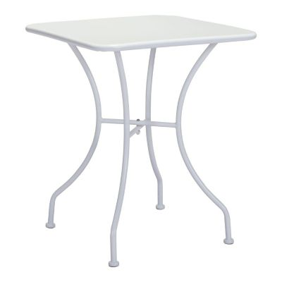 Zuo Modern White Oz Square Bistro Dining Table