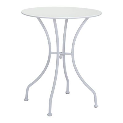 Zuo Modern White Oz Round Bistro Dining Table
