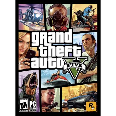 PC Games Grand Theft Auto V for PC
