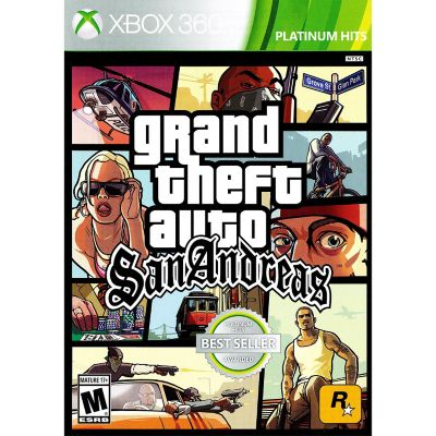 Microsoft Grand Theft Auto San Andreas for Xbox 360