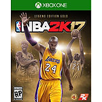 Microsoft NBA 2K17 Legend Edition Gold for Xbox One