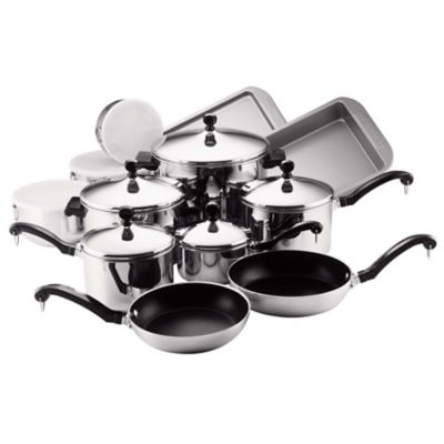 Farberware Classic 17-Piece Cookware and Bakeware Set