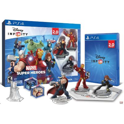 Disney Infinity 2.0 Marvel Super Heroes Starter Pack for PS4