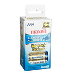 Maxell AAA Alkaline Battery 36-Pack 9.99