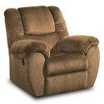 Home Solutions Umber Glider Rocker Recliner