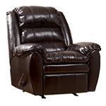Home Solutions Burgundy DuraBlend Rocker Recliner