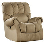 Home Solutions Mocha Power Rocker Recliner