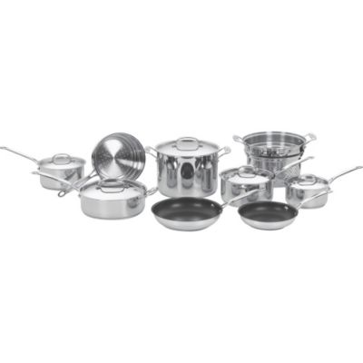 Cuisinart Chef's Classic™ Stainless Steel Cookware Set