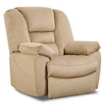Franklin Tan Marley Rocker Recliner