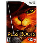 Nintendo Puss In Boots for Wii