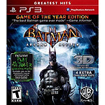 Sony Batman: Arkham Asylum Game of the Year Edition for PS3
