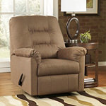 Berkline Mocha Upholstery Recliner No price available.