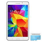 Samsung 8GB 7' White Android 4.4 KitKat Galaxy Tab 4 with 8GB microSDHC Card 179.99