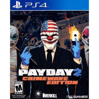 Sony Payday 2 Crimewave for PS4