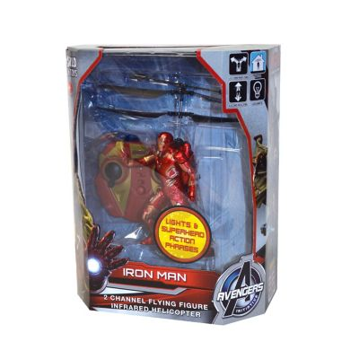 World Tech Toys Avengers: Age of Ultron Iron Man Flying Helicopter