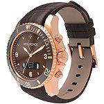 MyKronoz Pink/Gold ZeClock Premium Smartwatch