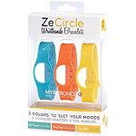 MyKronoz 3-Pack ZeCircle Colorama Bracelets