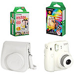 Fuji Instax White Mini 8 Camera with Case and Film