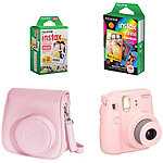 Fuji Instax Pink Mini 8 Camera with Case and Film