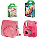 Fuji Instax Raspberry Mini 8 Camera with Case and Film