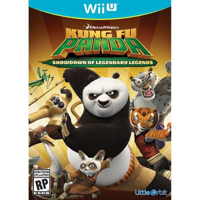 Nintendo Kung Fu Panda Showdown for Wii U