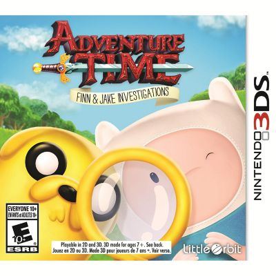Nintendo Adventure Time Finn Jake for 3DS