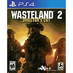 Sony Wasteland 2 Directors Cut for PS4