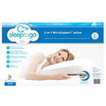 Serta Sleep To Go 2-in-1 MicroSupport Pillow 14.99