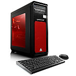 CybertronPC Celestrium-1070X Gaming PC with AMD FX-8300 3.3GHz Processor, 8GM DDR Memory, 1TB HDD Hard Drive, Red