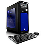 CybertronPC Celestrium RX-480M Gaming PC with Liquid-Cooled AMD FX-8300 Processor, AMD RX-480 GC, 16GB DDR3 Memory, 2TB HDD