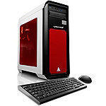 CybertronPC Celestrium RX-480XF Gaming PC with AMD FX-8350 Processor, 2x Radeon RX-480 GC, 16GB DDR3 Memory, 240GB SSD, 2TB HDD