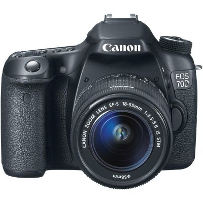 Canon EOS 70D Digital SLR Camera with EF-S 18-55mm IS STM Lens