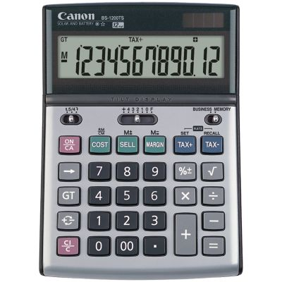 Canon 8507A010 12-Digit Solar and Battery-Powered Calculator