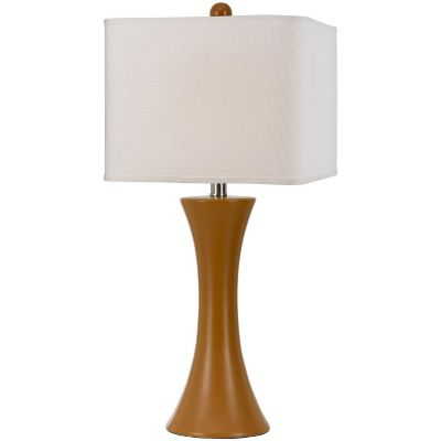 Angelo Home Orange Madison Ceramic Table Lamp