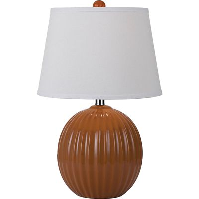 Angelo Home Orange Bleeker Ceramic Table Lamp