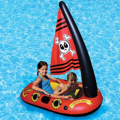 Poolmaster Inflatable Pirate Boat