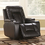 Home Solutions DuraBlend® Ebony Home Theater Recliner 399.99