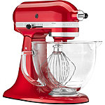 KitchenAid 5-Quart Candy Apple Red Series Stand Mixer 399.99