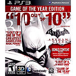 Sony Batman Arkham City: Game of the Year Edition for PS3