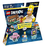 Warner Home Lego Dimensions Simpsons Level Pack