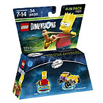 Warner Home Lego Dimensions Simpsons Bart Fun Pack