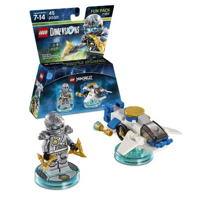 Warner Home Lego Dimensions Ninjago Zane Fun Pack
