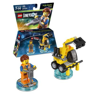 Warner Home Lego Dimensions Movie Emmet Fun Pack