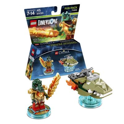 Warner Home Lego Dimensions Chima Cragger Fun Pack