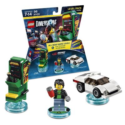 Warner Home Lego Dimensions Midway Retro Level Pack