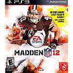 Sony Madden NFL 12 for PS3 (Pre-Owned)